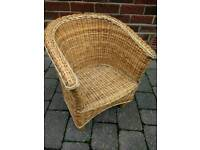 Childrens Wicker Armchair