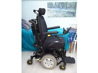 Wheelchair. Battery. Tilt and space. Quantum Q10. Cost £7040 new. £400.