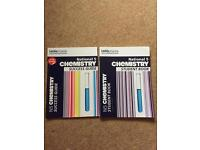 National 5 Chemistry success guide and Student book
