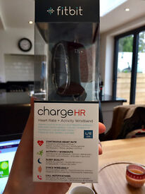 Fitbit Charge HR - Brand new in unopened box - Size Large