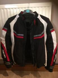 Richa Airstream Motorbike Jacket (Black, Size Medium)