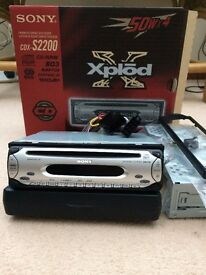 Sony Xplod car CD player