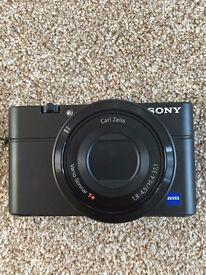 Sony DSC-RX100 Advanced Digital Compact Premium Camera For Sale - £225