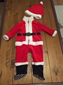Santa's suit 9-12 months