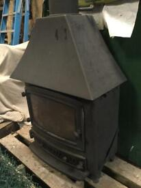 Villager large log burner stove, good condition