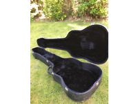 Hard case for acoustic guitar or acoustic bass