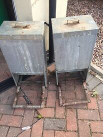 Two chicken feeders £25 each