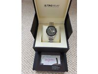 TAG Carrera automatic watch - Model CV201 - SS strap