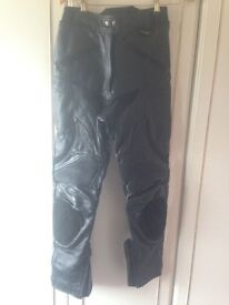 Buffalo leather trousers