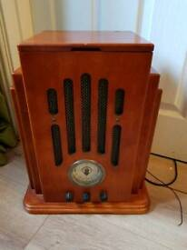 Old style CD player and radio