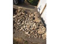 *FREE* concrete rubble
