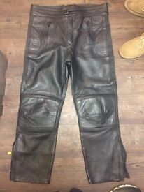 Ladies biker trousers
