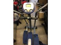 York fitness cross trainer and treadmill
