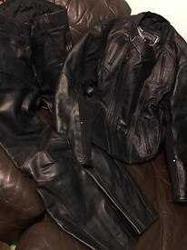 Frank Thomas leathers jacket and bottoms