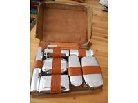 Men's Vintage Leather Grooming Kit