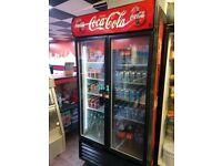 Double Coca Cola fridge just 6 or 7 months