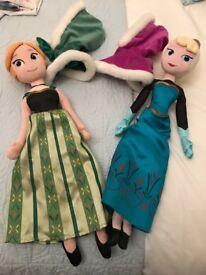 Frozen plush dolls