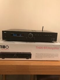 Tibo TI420BT Stereo Amplifier with Bluetooth - Boxed Mint