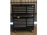 "Ex Display Draper 40"" 20 Drawer 2 Piece Tool Chest Box (same as Snap on / Mac)"