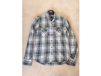 Like (0) Settings Men's Superdry Green Check Shirt Large