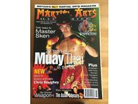 Martial Arts Illustrated and Combat Magazines For Sale