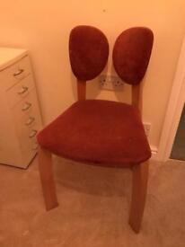 Set of 4 dining chairs unique quirky chairs