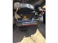 Rockworth Air Compressor & hose.