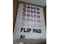 Flip pad refill, Sasco, A1 size, 40 page