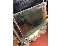 6 x Laminate clear glass windows for sale