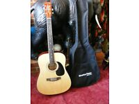 Stretton Payne Right Handed 6 String Acoustic Guitar Model SPD1 D1 in Original Bag