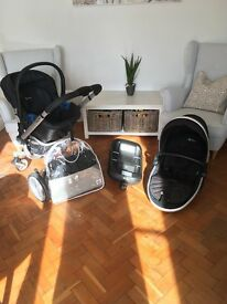Silvercross Travel System including isofix