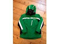Ski jacket, salopettes and goggles - Child age 12/14