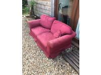 FREE Burgundy Laura Ashley 2 seater sofa