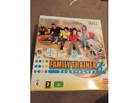 Wii Family Trainer Game - never used