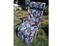 Two Vintage Sun loungers chairs