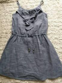 GIRLS BLUE NEXT DRESS