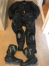 Rst 2 piece leathers and boots