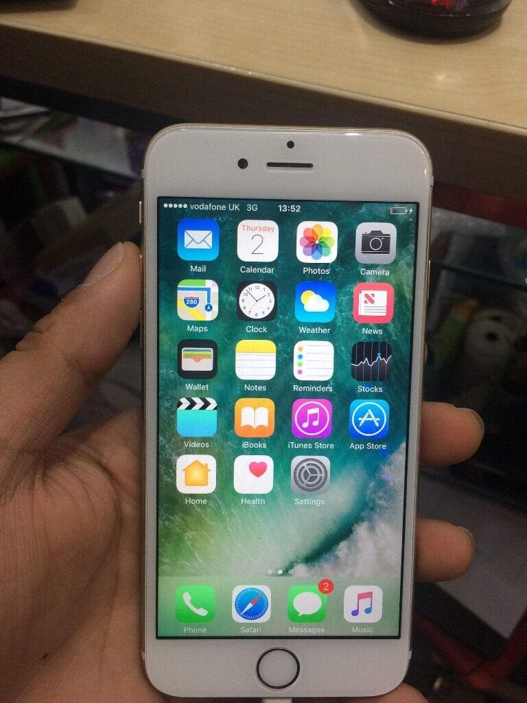 IPHONE 6S GOLD/ Vodaphone/ 64 GB/ VISIT MY SHOPGRADE B1 YEAR WARRANTYRECEIPTin Redbridge, LondonGumtree - IPHONE 6S GOLD, Locked on Vodaphone. Just cost £20 to unlock it from any shop. and Grade B condition. This phone working perfectly and has the memory of 64 GB. The phone is like new and ready to use. VISIT MY SHOP. 425, High Road, ILFORD, IG1 1TR (...