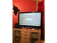 Samsung 50 in tv great working order