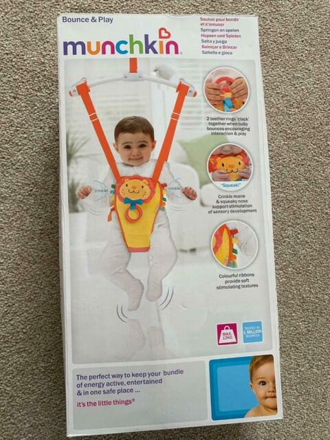 91502381d54 Never used Munchkin bounce and play baby door bouncer | in Poole, Dorset |  Gumtree
