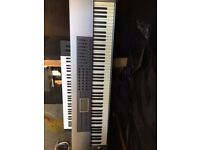 M-Audio Keystation Pro88 Keyboard Controller Midi/USB powered.