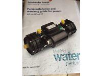 Salamander RSP 100 Twin pump 3.0 bar