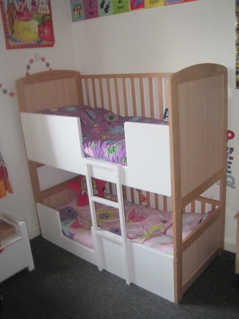 Shanticot Bunk Cot Bunkbed Bunkbeds 3 In 1 Bunk Cot