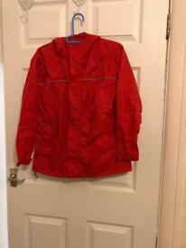 Unisex showerproof jacket