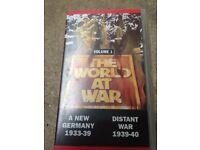 World at War vhs tape