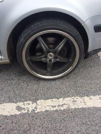 BK Racing 993 alloy wheels