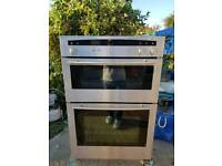 Neff U1421N1GB double electric oven built in 60cm