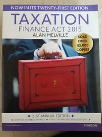 Taxation finance act 2015! Excellent condition! Looks brand new! Only £10!