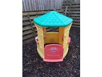 Little Tikes Garden Play House & Slide