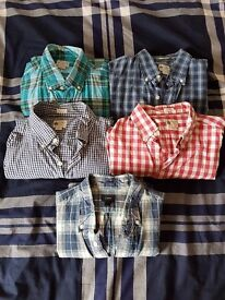 Selection of J Crew men's shirts - medium, excellent condition